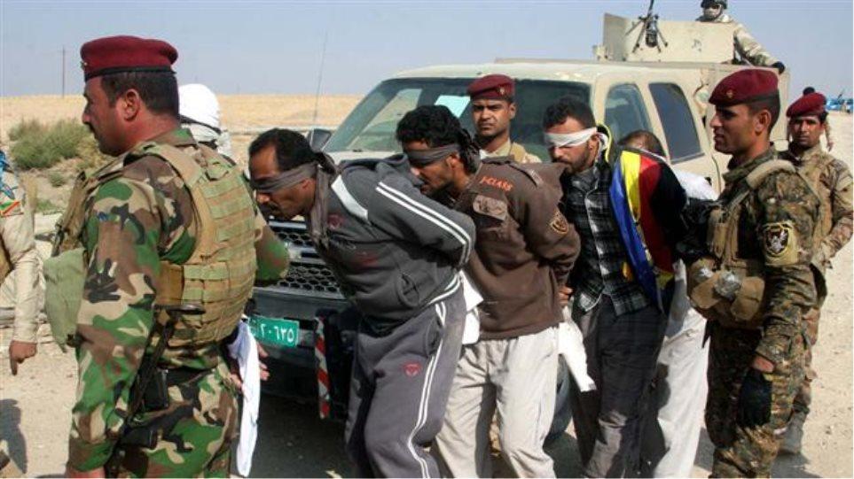 150 τζιχαντιστές μεταφέρθηκαν στη Βαγδάτη για εκτέλεση
