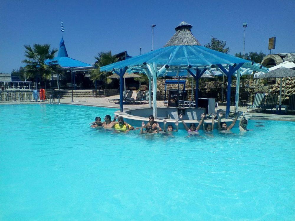 Εκμάθηση κολύμβησης από το σύλλογο ΑμεΑ το «Μέλλον»