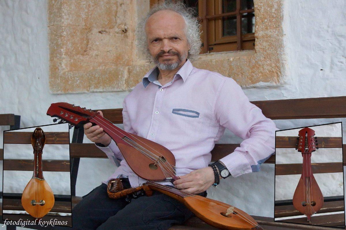 Αντώνης Κουκλινός: Ο Μεσαρίτης μουσικός με ακούσματα που μυρίζουν ατόφια Κρητική παράδοση!