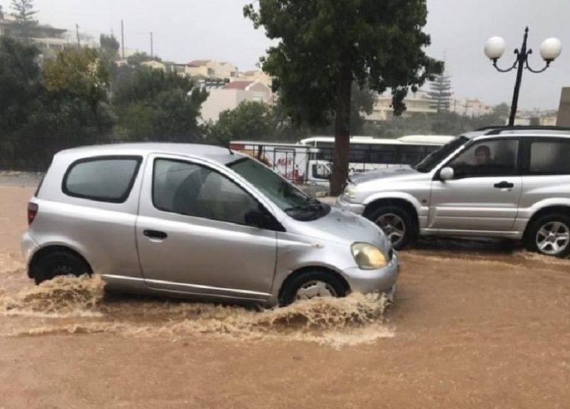 Χανιά: Πλημμύρες, κατολισθήσεις και επικίνδυνοι δρόμοι