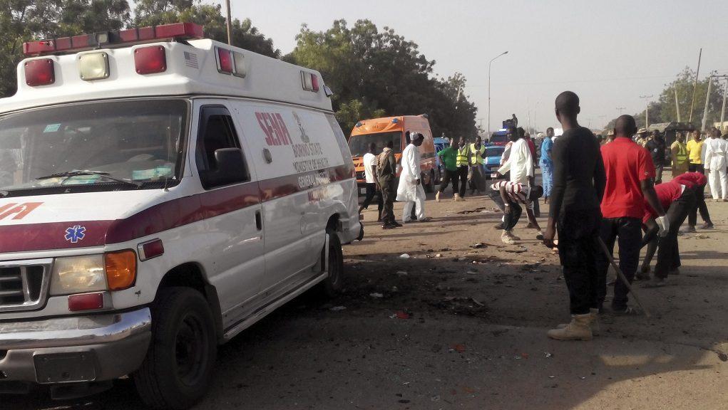 νεκροί ,έκρηξη σε βυτιοφόρο στη Νιγηρία