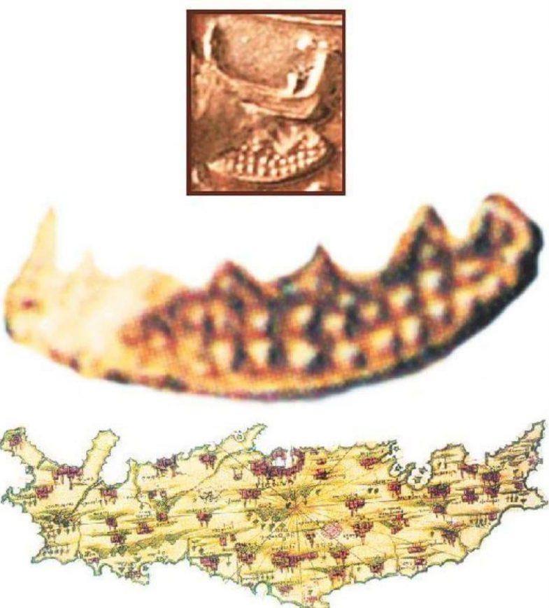 Η Χαρτογράφηση της Κρήτης πριν 3700 χρόνια!!