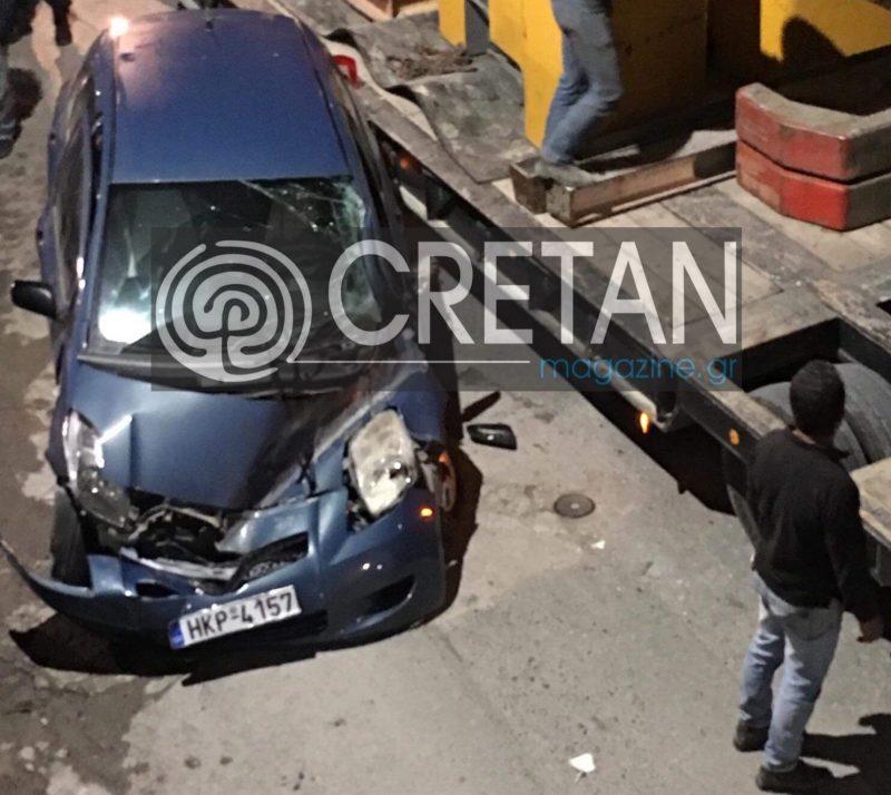 Έπεσαν 40 τόνοι σίδερα πάνω σε αυτοκίνητο – Από θαύμα δεν θρηνήσαμε θύματα!