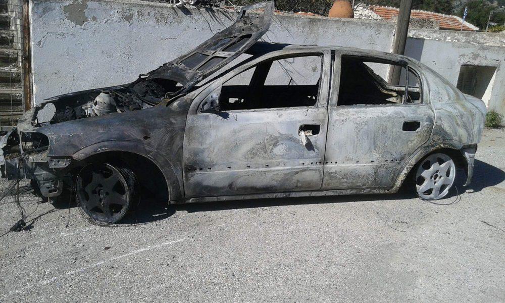 Ανατίναξαν αυτοκίνητο στο Ρέθυμνο – Θαύμα που δεν υπήρχαν θύματα!