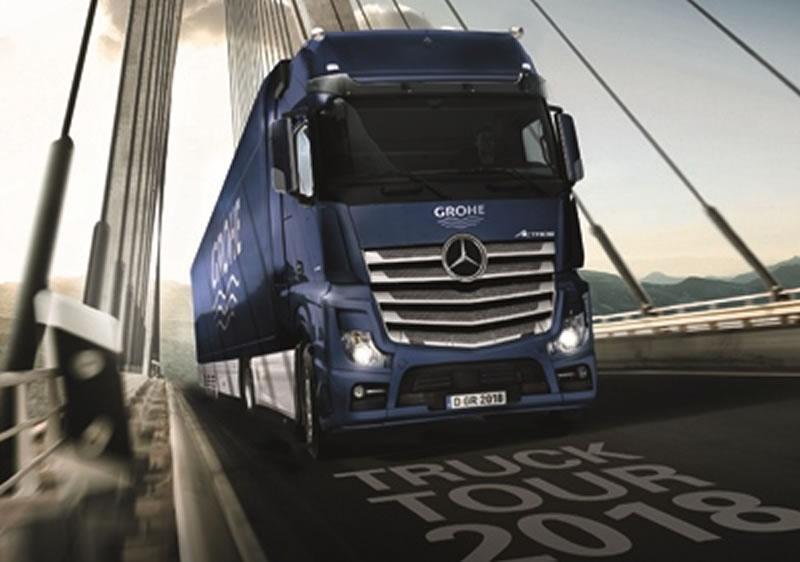 Ένα φορτηγό γεμάτο με εντυπωσιακές καινοτομίες για λίγες μέρες στη Κρήτη