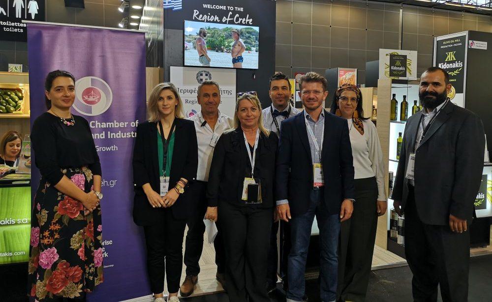 Το Επιμελητήριο Ηρακλείου στην έκθεση SIAL PARIS 2018 με 6 επιχειρήσεις μέλη του