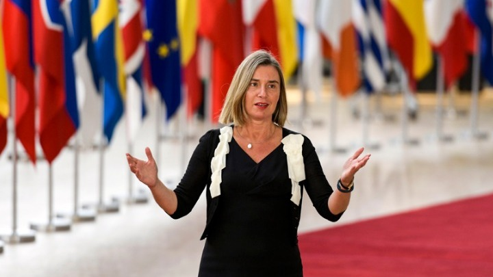 Φ. Μογκερίνι: Η Συμφωνία των Πρεσπών μοναδική ευκαιρία συμφιλίωσης στη ΝΑ Ευρώπη