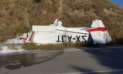 Αναγκαστική προσγείωση αεροπλάνου