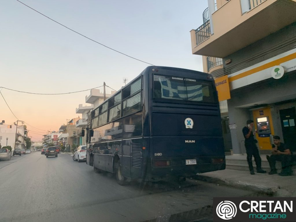 Δρακόντεια μέτρα της Αστυνομίας στο Τυμπάκι   Cretanmagazine.gr