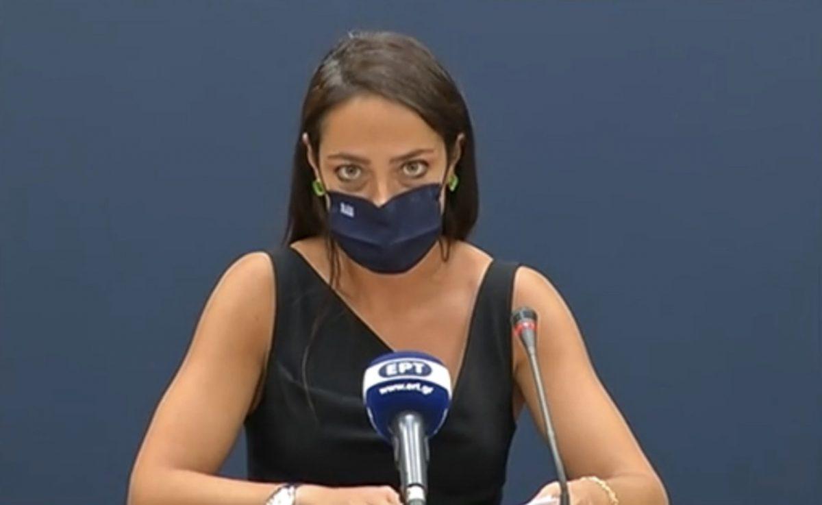 υφυπουργός Εργασίας και Κοινωνικών Υποθέσεων, αρμόδια για θέματα Πρόνοιας και Κοινωνικής Αλληλεγγύης, Δόμνα Μιχαηλίδου