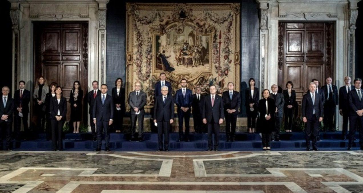 κυβέρνηση Ντράγκι στην Ιταλία