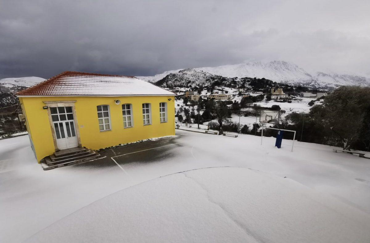 Σχολείο – χιόνια