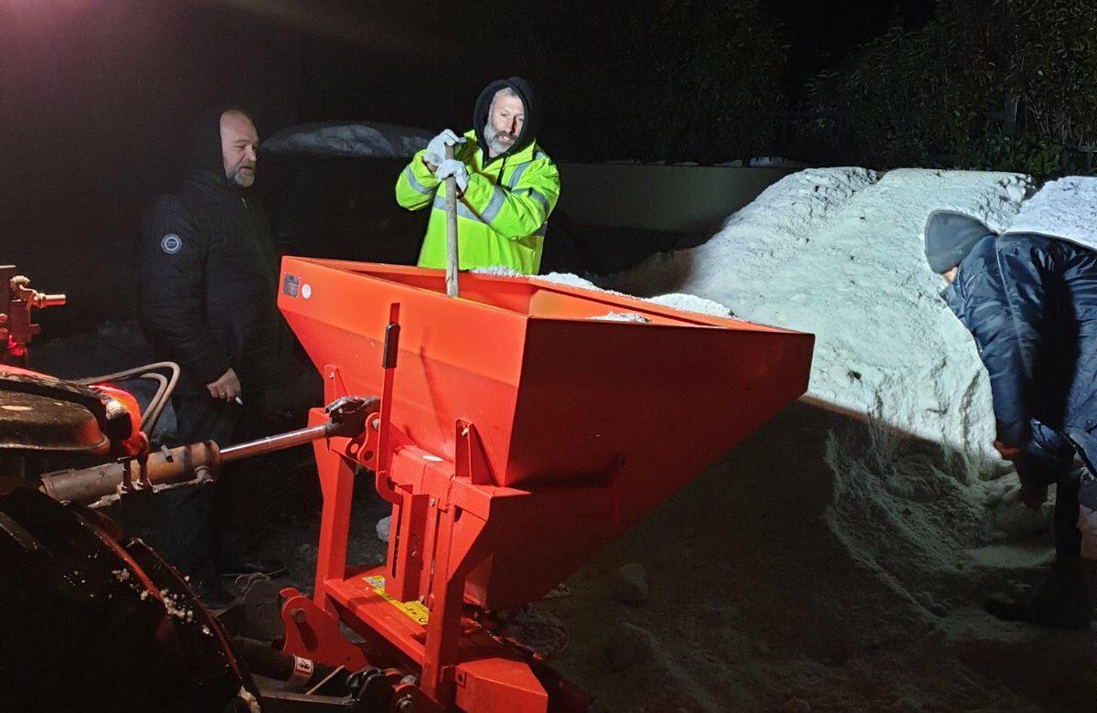 Χιόνια – Δήμος Γόρτυνας